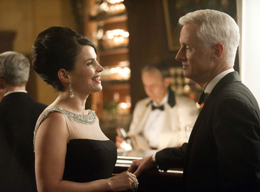 Julia Ormond, John Slattery, Mad Men