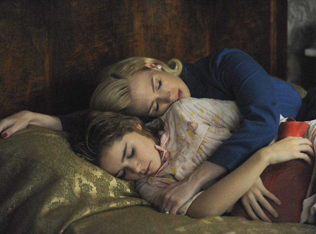 Kiernan Shipka, January Jones, Mad Men