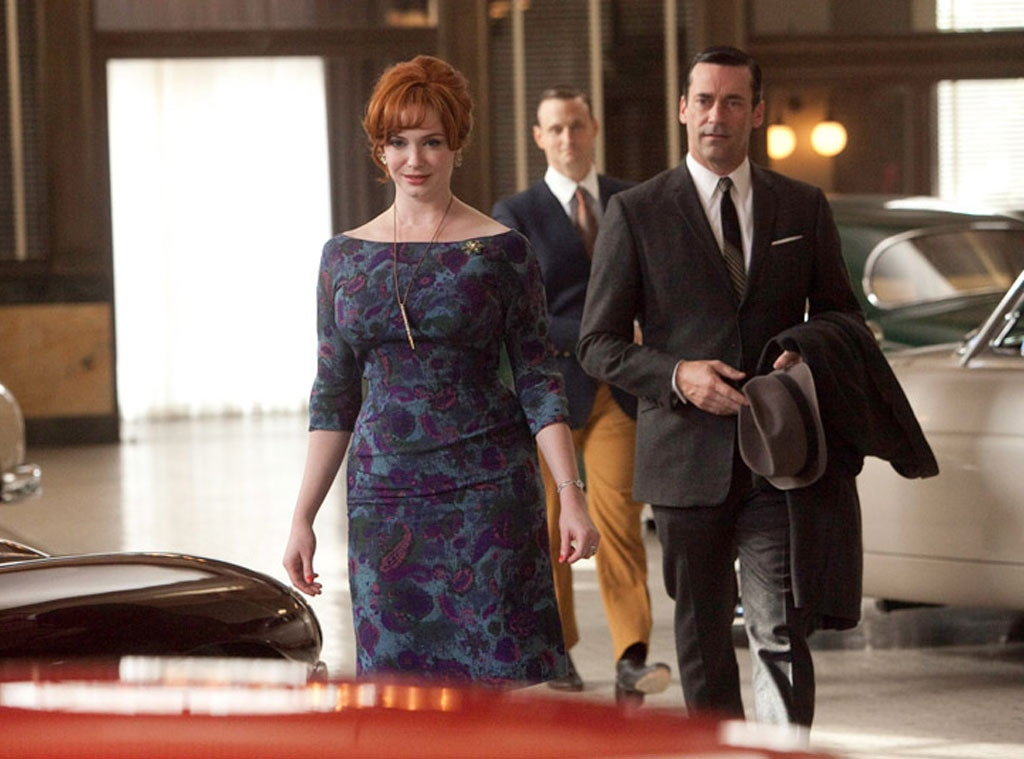 Christina Hendricks, Jon Hamm, Mad Men