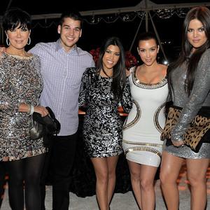 Kris Jenner, Robert Kardashian, Kourtney Kardashian, Kim Kardashian, Khloe Kardashian