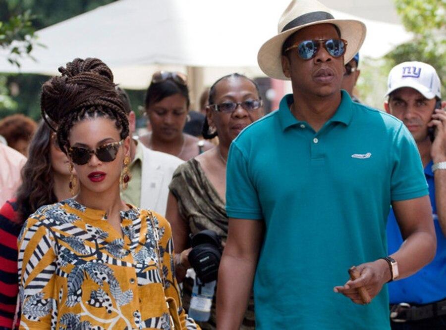 Beyonce, Jay-Z, Cuba