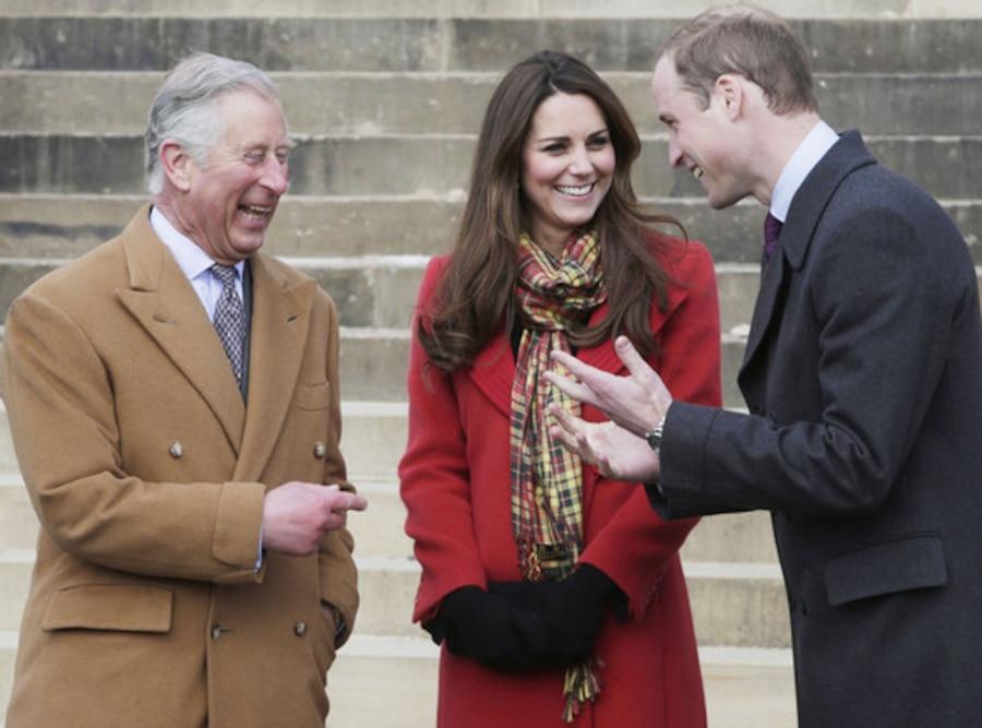 Prince Charles, Prince of Wales, Kate Middleton, Prince William