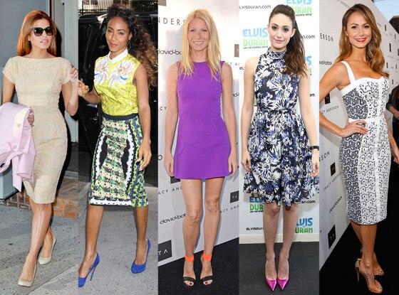 Eva Mendes, Jada Pinkett Smith, Gwyneth Paltrow, Emmy Rossum, Stacy Keibler