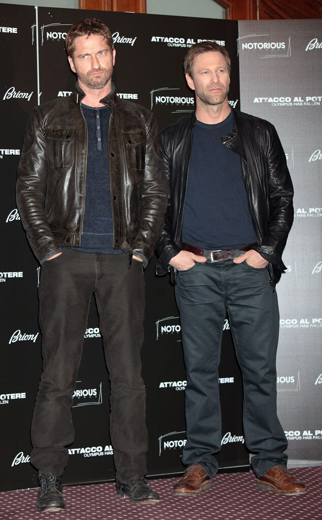 Gerard Butler, Aaron Eckhart