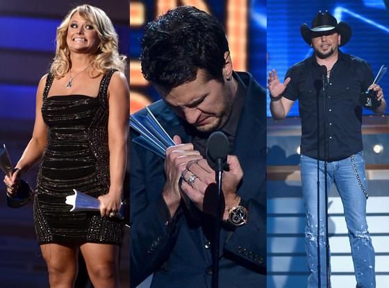 Luke Bryan, Miranda Lambert, Jason Aldean, Country Music Awards