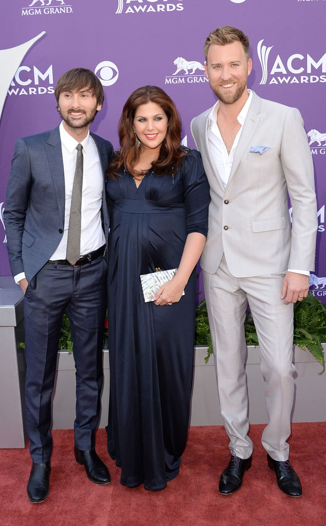 Country Music Awards, Dave Haywood, Hillary Scott, Charles Kelley, Lady Antebellum