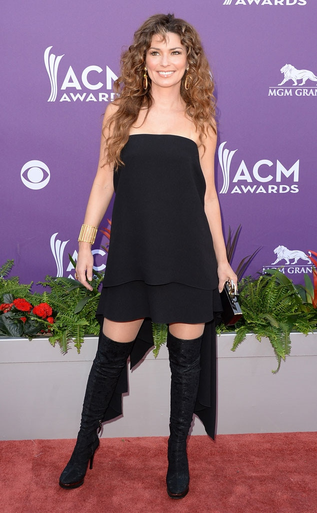 Country Music Awards, Shania Twain