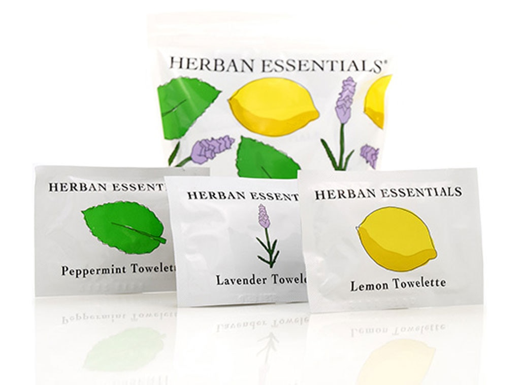 Coachella Beauty, Herban Essentials Mixed Towlettes