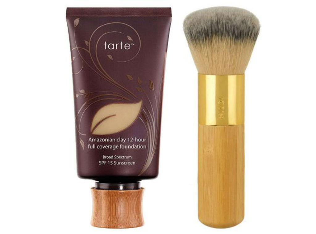 Coachella Beauty, Tarte Amazonian Clay Full-Coverage Foundation SPF