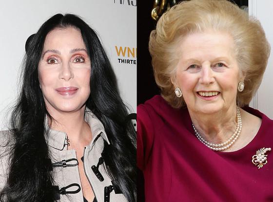 Cher, Margaret Thatcher