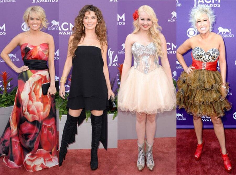 Carrie Underwood, Shania Twain, Rae Lynn, Tobi Lee
