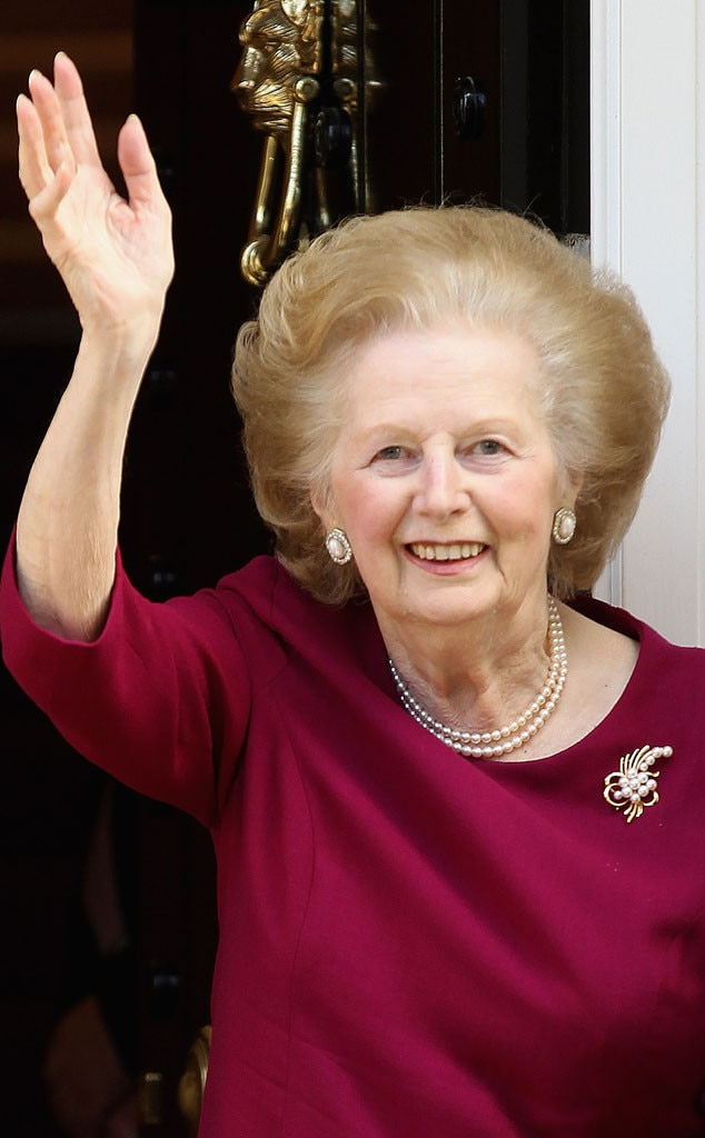 British Prime Minister, Margaret Thatcher