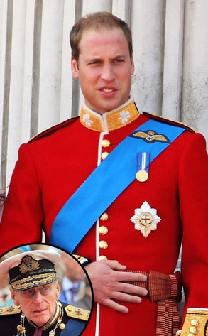 Prince William, Prince Philip