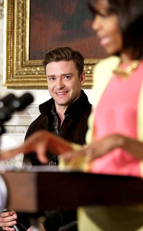 Justin Timberlake, Michelle Obama