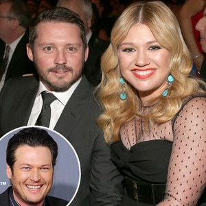 Kelly Clarkson, Brandon Blackstock, Blake Shleton