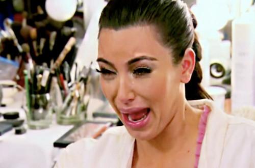 Kim Crying