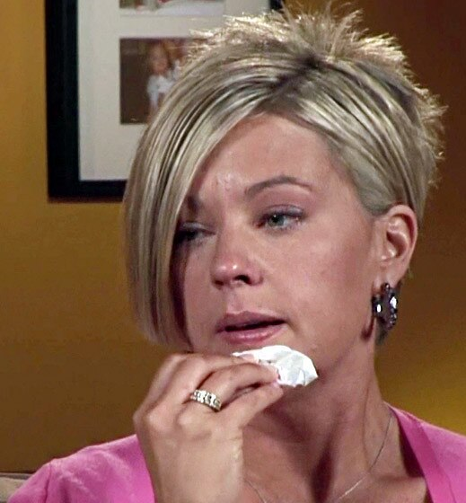 Kate Gosselin Crying