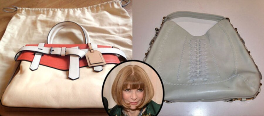 Anna Wintour, eBay Vogue Purses