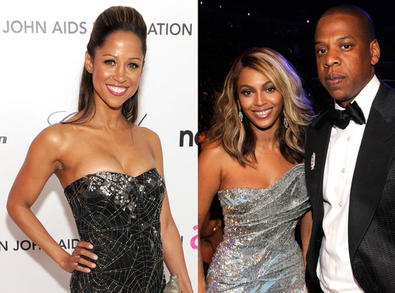 Stacey Dash, Beyonce, Jay-Z