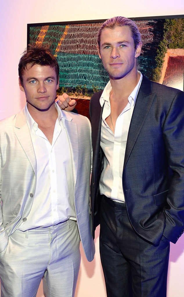 Luke Hemsworth, Chris Hemsworth
