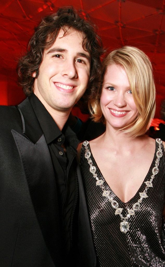 Josh Groban Amp January Jones From They Dated Surprising
