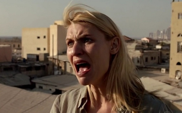Claire Danes Crying