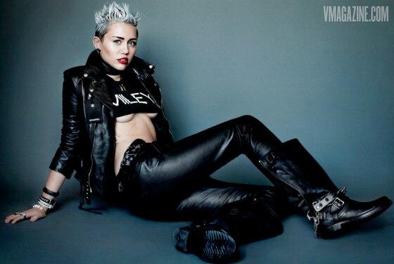 Miley Cyrus, V Magazine