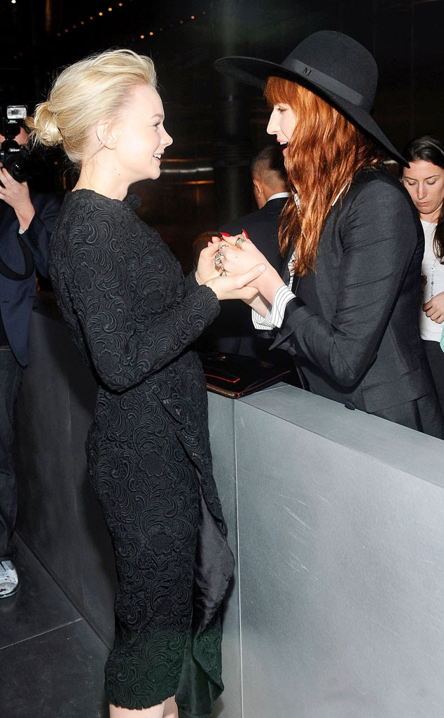 Carey Mulligan, Florence Welch