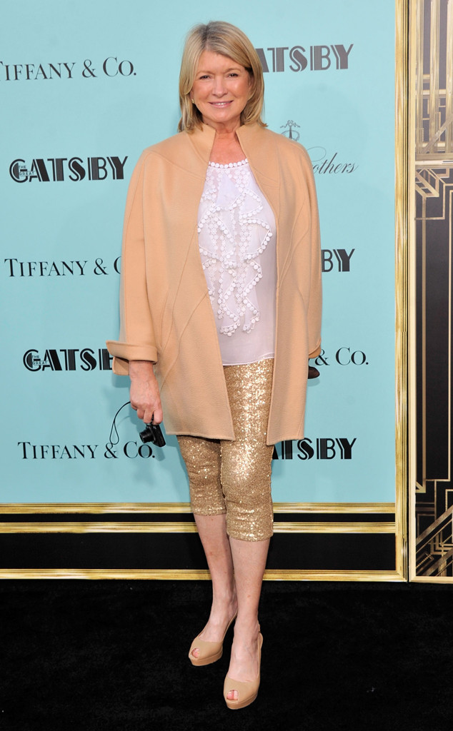 Martha Stewart, The Great Gatsby Premiere