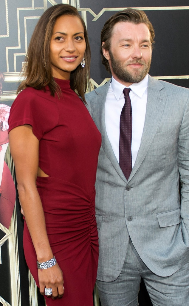 Alexis Blake, Joel Edgerton, The Great Gatsby Premiere