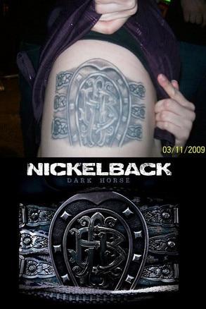 Dark Horse Album tattoo