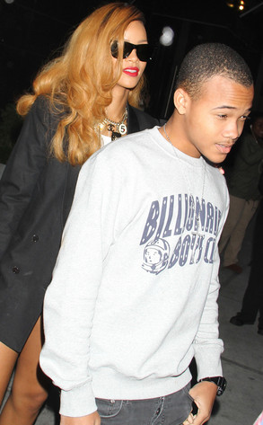 Rihanna Shops With Her Little Brother in New York City—See ...