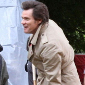 Jim Carrey, Anchorman 2 set