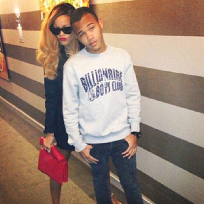 Rihanna, Brother, Instagram