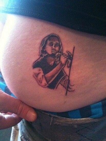 Chad Kroeger tattoo