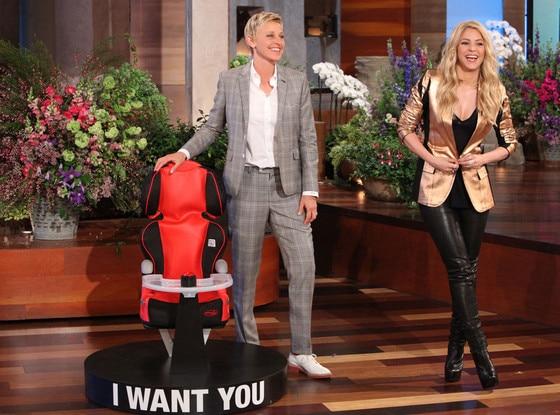 Shakira, Ellen