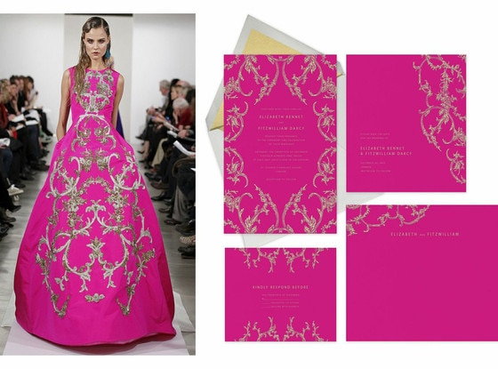 Oscar De La Renta, Paperless Post Invites