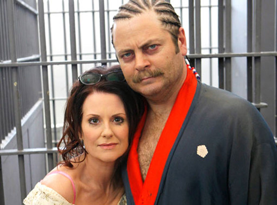 Megan Mullally, Nick Offerman, Parks and Recreation