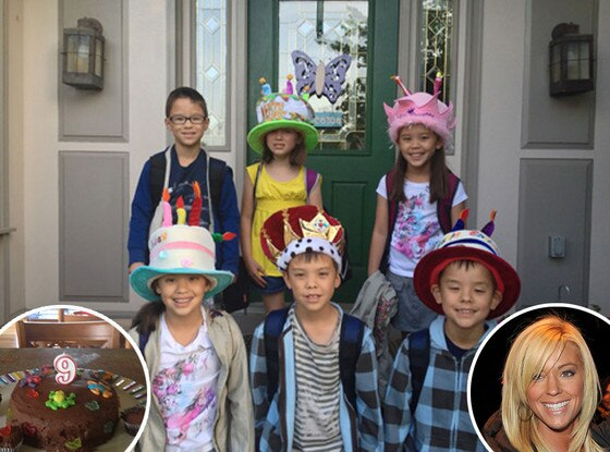Kate Gosselin, Kids' Birthday