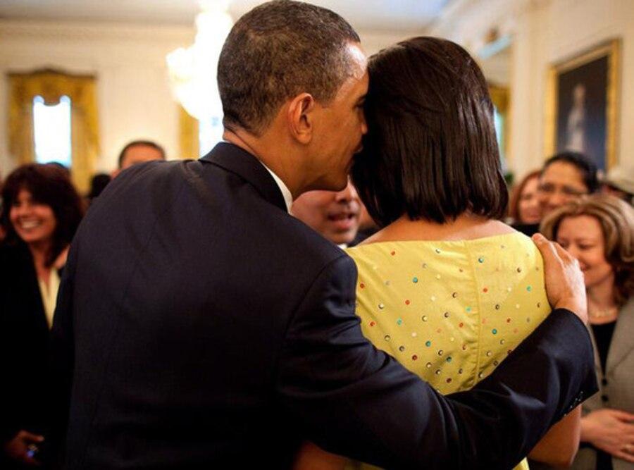 Barack Obama, Michelle Obama, Mother's Day