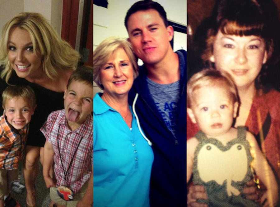 Britney Spears, Channing Tatum, LeAnn Rimes, Mother's Day
