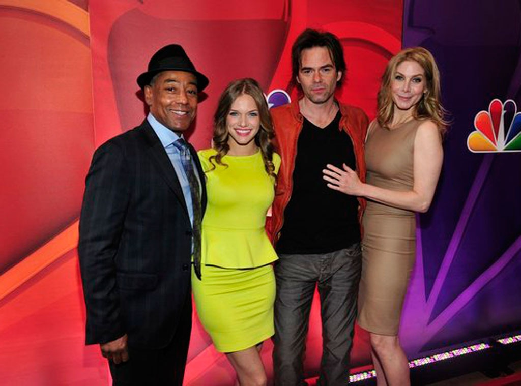 Giancarlo Esposito, Tracy Spiridakos, Billy Burke, Elizabeth Mitchell, NBC Upfronts