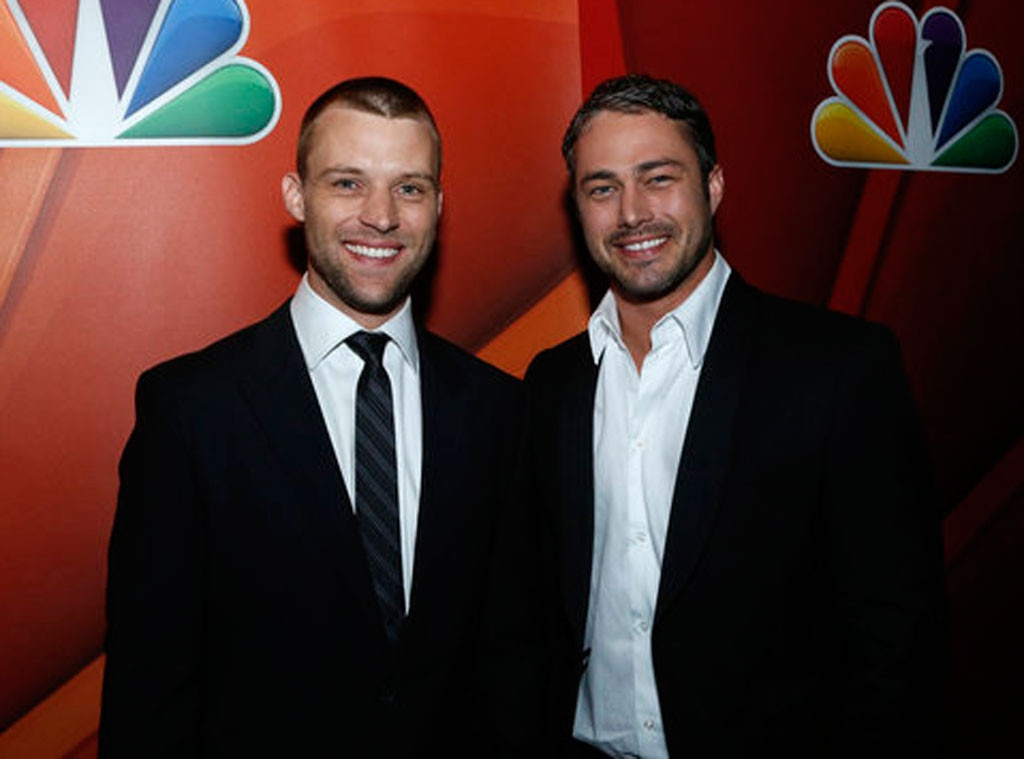 Jesse Spencer, Taylor Kinney, NBC Upfronts