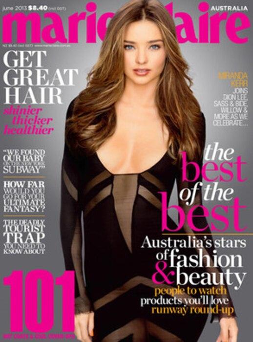 Miranda Kerr, Marie Claire Australia