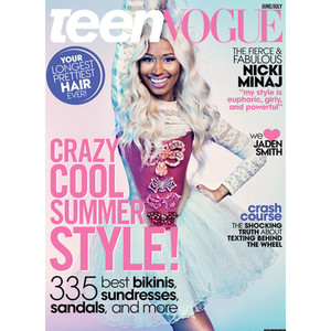 Nicki Minaj, Teen Vogue Cover