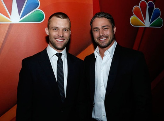 Jesse Spencer, Taylor Kinney, NBC Upfronts