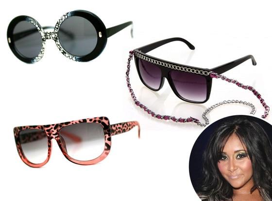Snooki, Sunglasses