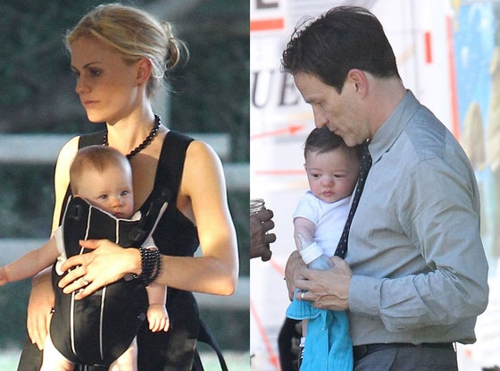 Anna Paquin, Girl Twin, Stephen Moyer, Boy Twin