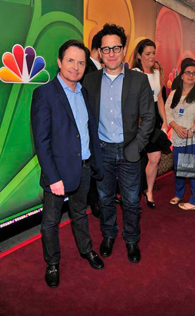 Michael J. Fox, J.J. Abrams, NBC Upfronts