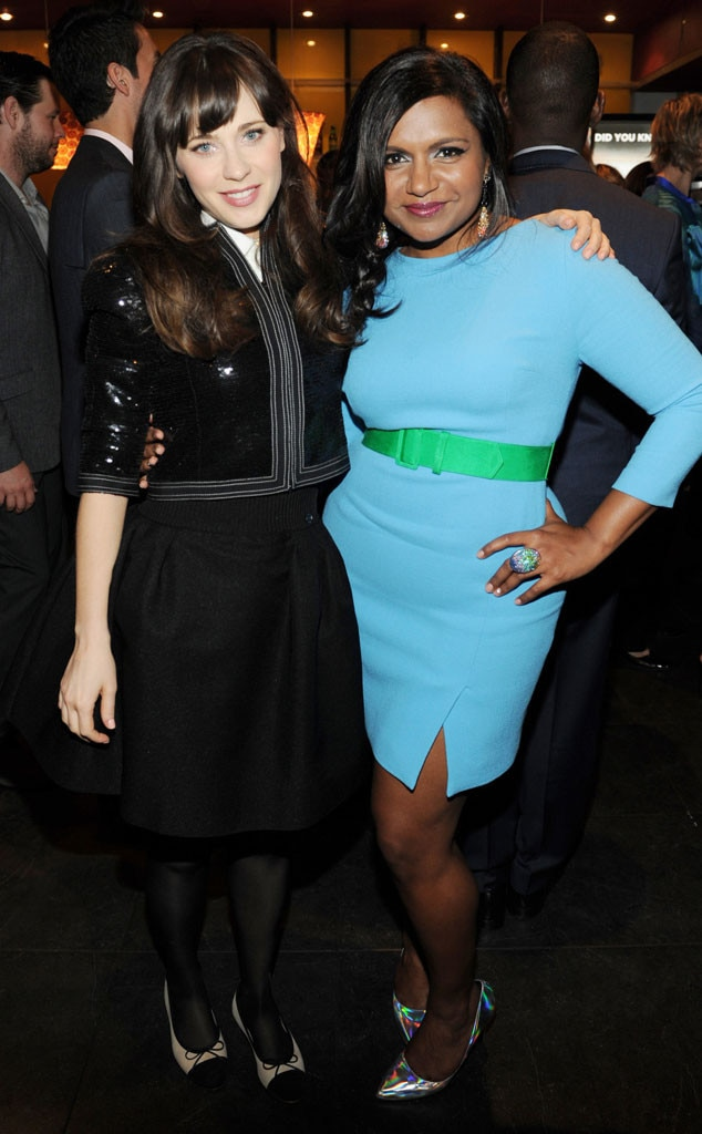 FOX Upfronts, Zooey Deschanel, Mindy Kaling